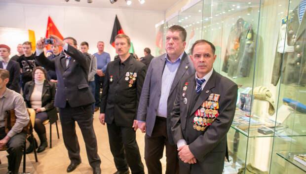 В Подольске вручили юбилейные медали к 30‑летию вывода войск из Афганистана
