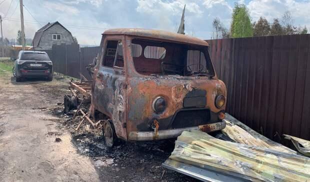 Минприроды сообщает о двух огнеборцах, пострадавших в пожарах Тюменской области