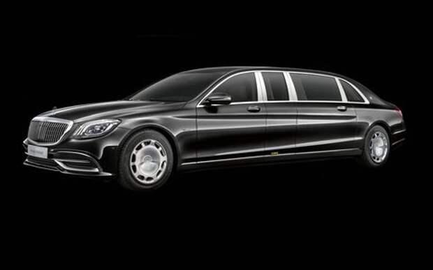 Лимузин Mercedes-Maybach Pullman пережил рестайлинг