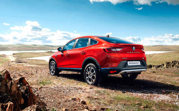 Продажи Renault Arkana по интернету... не задались