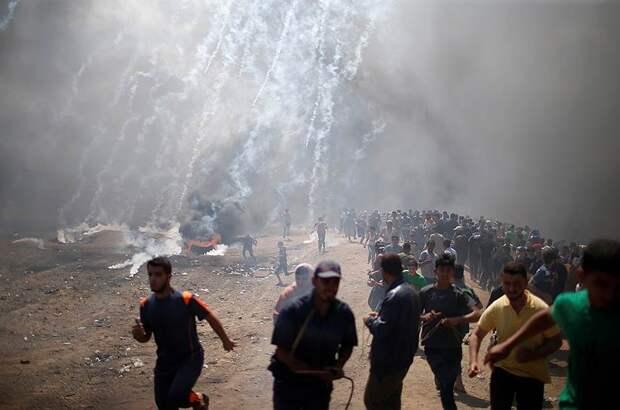 Израиль в огне: идут еврейские погромы, горят синагоги и полицейские машины (ВИДЕО)