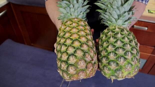 Как выбрать сладкий ананас