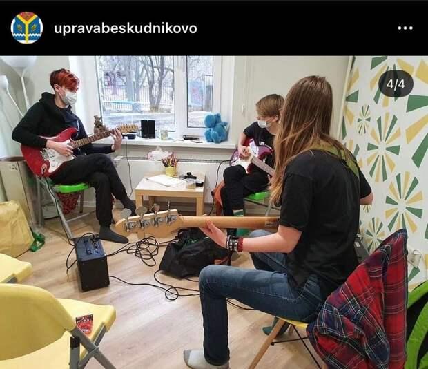 На Селигерской открылся подростковый клуб