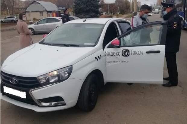 В Тамбове проверили соблюдение масочного режима среди водителей и пассажиров такси