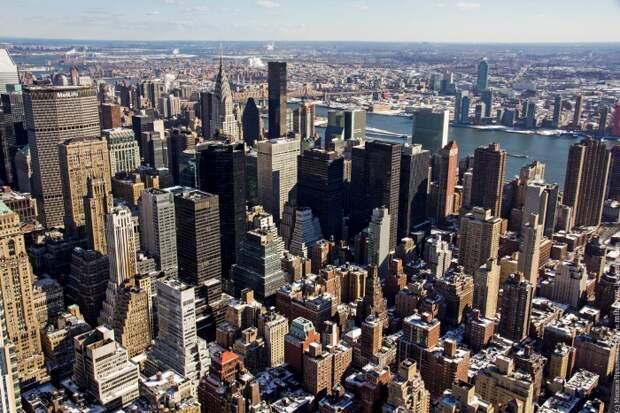 Нагромождение высотных зданий придется по душе не каждому. /Фото: awd.ru