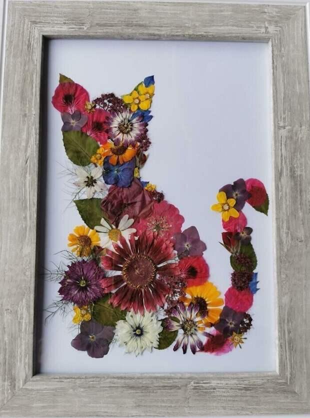 """22. """"Моя жена высушивает цветы, а потом делает из них картины"""""""
