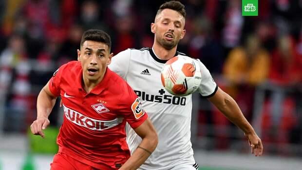 «Спартак» проиграл «Легии» в Лиге Европы