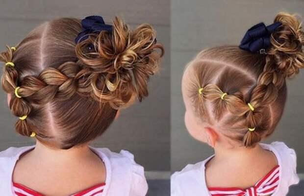 Для мамочек или бабушек, которые любят творить из волос и делать прически своим маленьким модницам.