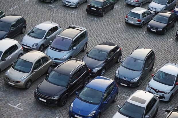 Парковка, Автомобили, Транспортных Средств, Трафик