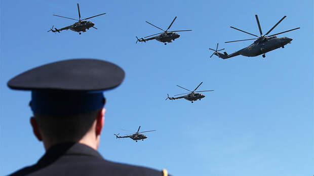 В Гидрометцентре оценили угрозу для воздушной части Парада Победы
