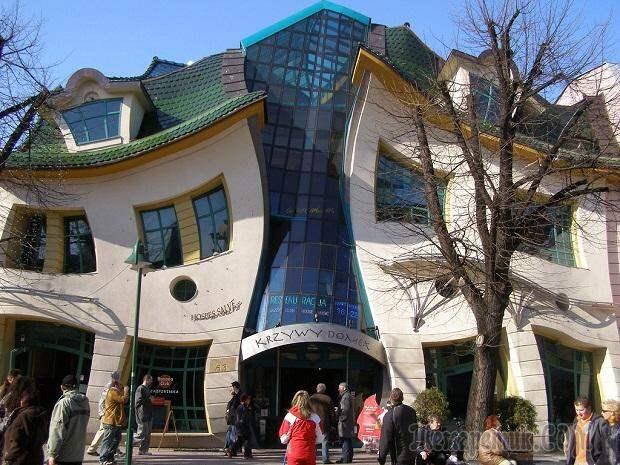 Топ-10 самых необычных зданий и строений мира