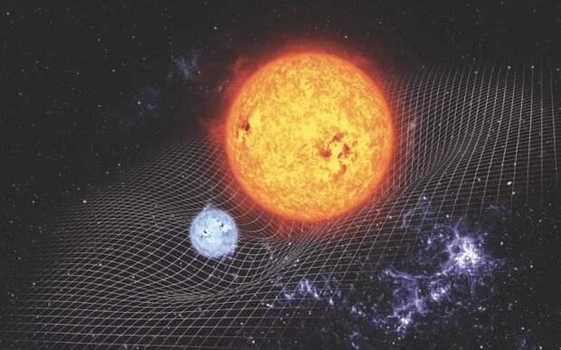 Как массивные объекты деформируют пространство-время