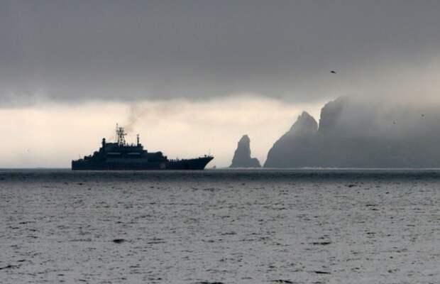 Корабли России развернули в Тихом океане