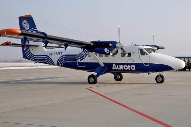 Авиакомпания «Аврора» в 2018 году получит пять DHC-6 для улучшения авиасообщения с Курилами