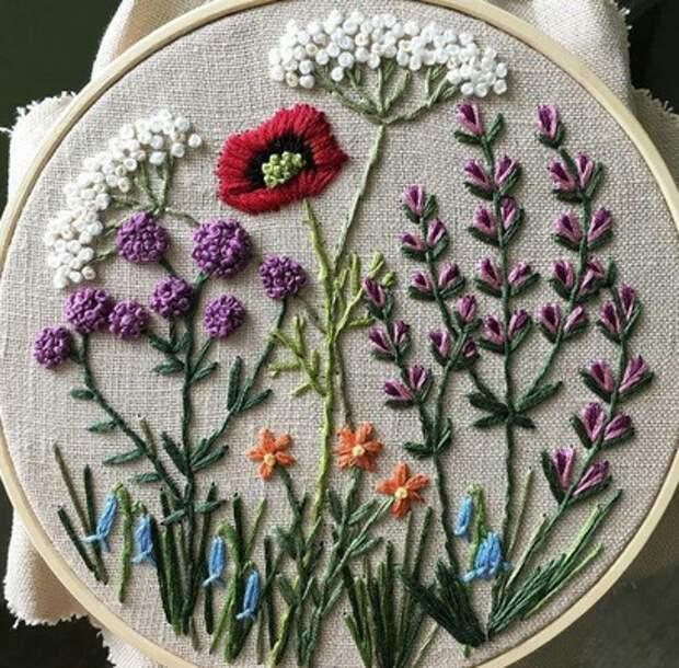 Скоро лето! Вдохновляемся летней вышивкой. Идеи для рукоделия