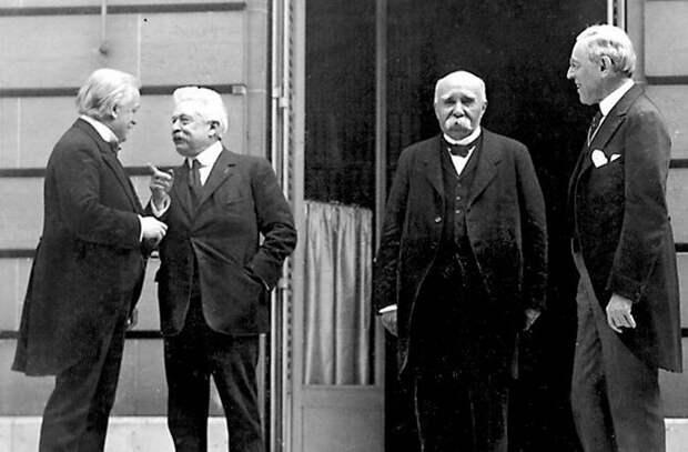 Грипп 1918 года и Версальский мирный договор.