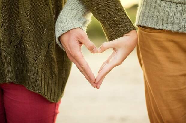 Руки, Сердце, Пара, Женщина, Человек, Люди, Любовь