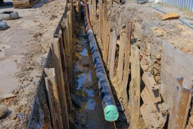 монтаж газопровода