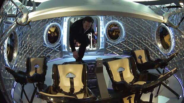 Астронавт Бенкен рассказал о предстоящем испытательном полете Crew Dragon