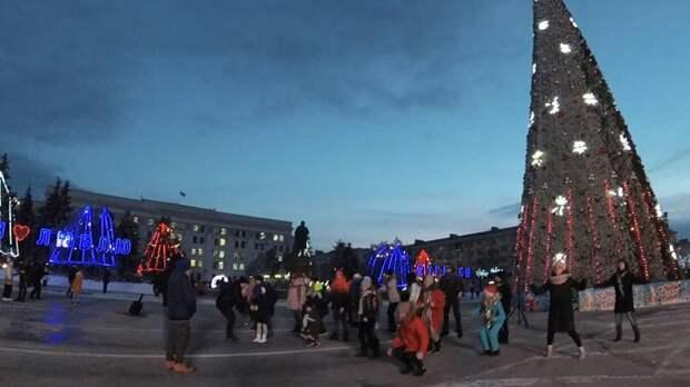 Новый год в ЛДНР и великой России