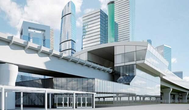 """Возле ММДЦ """"Москва-Сити"""" завершается монтаж самой длинной железнодорожной эстакады города"""