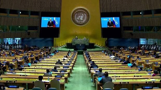 Большая пятерка: о  речи Владимира Путина в ООН