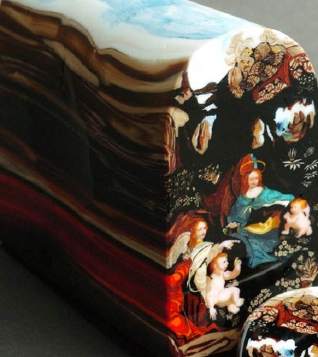Картины миллефиори от Лорена Стампа