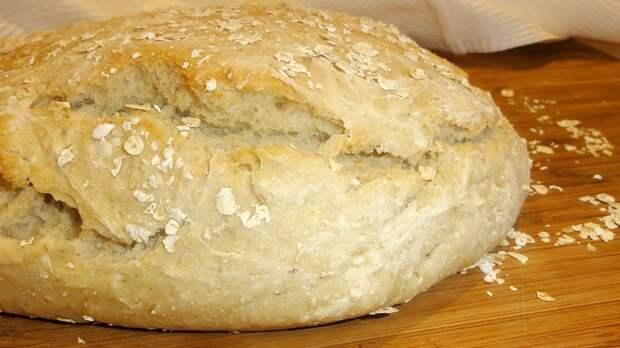 хлеб на овсянке