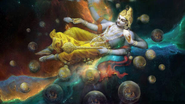 Маха-Вишну. Творец вселенной.