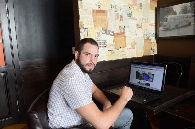 Михаил Косач: Надеюсь, что мой сайт rabotapensioneru.ru будет полезен и пенсионерам, и их нанимателям. Фото: Тагир Раджавов