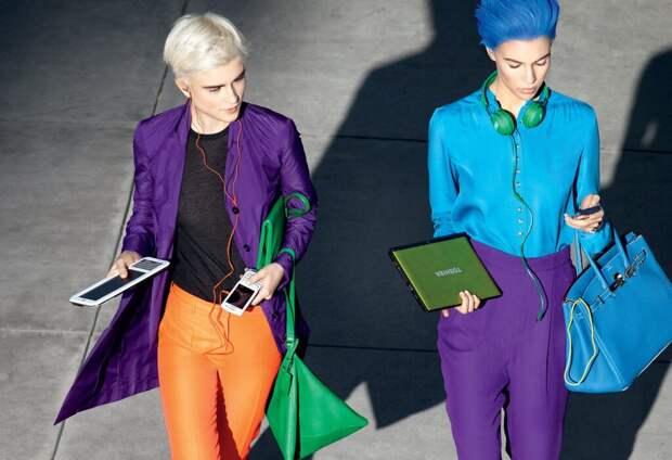 Как правильно сочетать фиолетовый цвет в одежде? Стильные фишки и полезные советы
