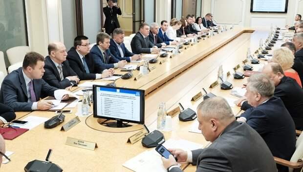 Депутаты Мособлдумы предложили 75 мероприятий для включения в госпрограммы на 2019 год