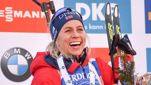 Экхофф установила рекорд по сумме призовых за один биатлонный сезон