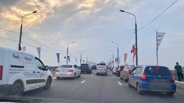 «Вметро иавтобусах жесть»: Нижегородцы жалуются напробки из-за финала Кубка России