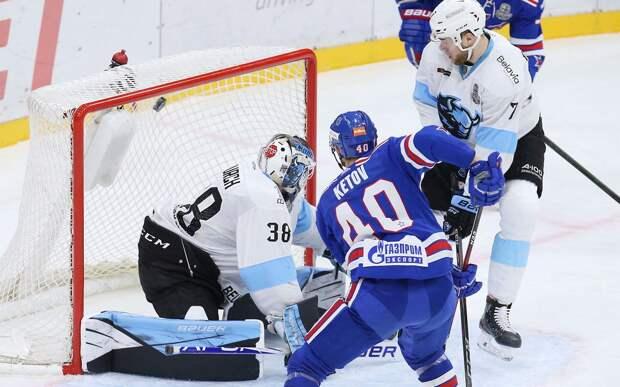 Дубль Кетова помог СКА обыграть минское «Динамо» во 2-м матче серии