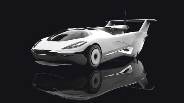 Это автомобиль? Или самолёт? Нет, это словацкий суперкар
