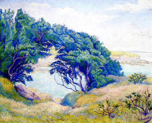 """Поль Рансон (фр. Paul Ranson)(1864-1909).......""""И некая меж нас в тот миг возникла тайна."""""""