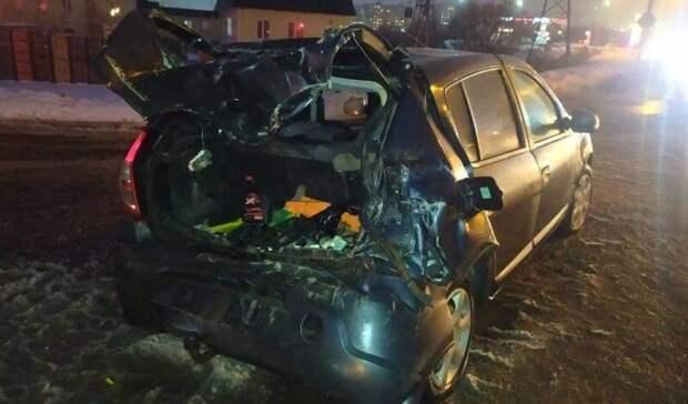 Двое детей пострадали втройном ДТП вОренбурге