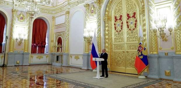 «Ресурсы у нас для этого есть» - Владимир Путин выступил перед Совфедом