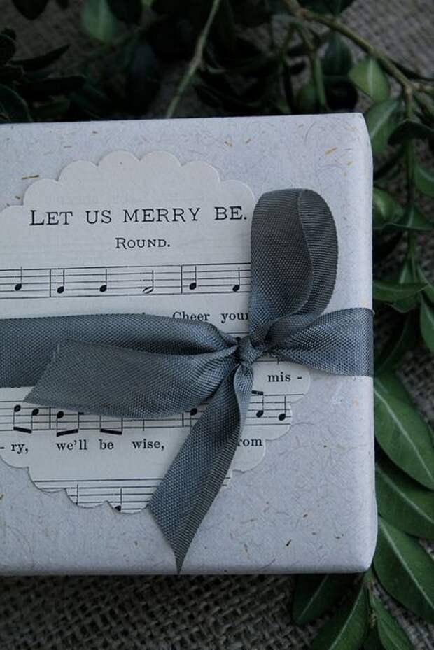 Упаковка подарков для влюблённых (подборка)