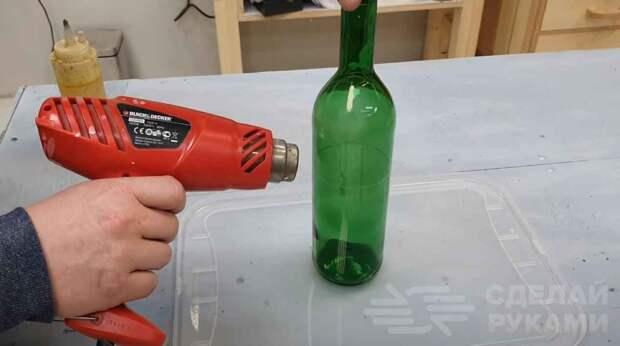 Как разрезать стеклянную бутылку. Делаем бутылкорез своими руками
