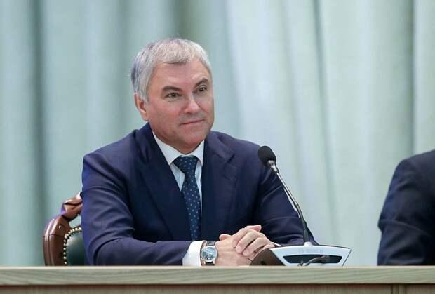 Володин пригласил иностранцев наблюдать за выборами в Госдуму