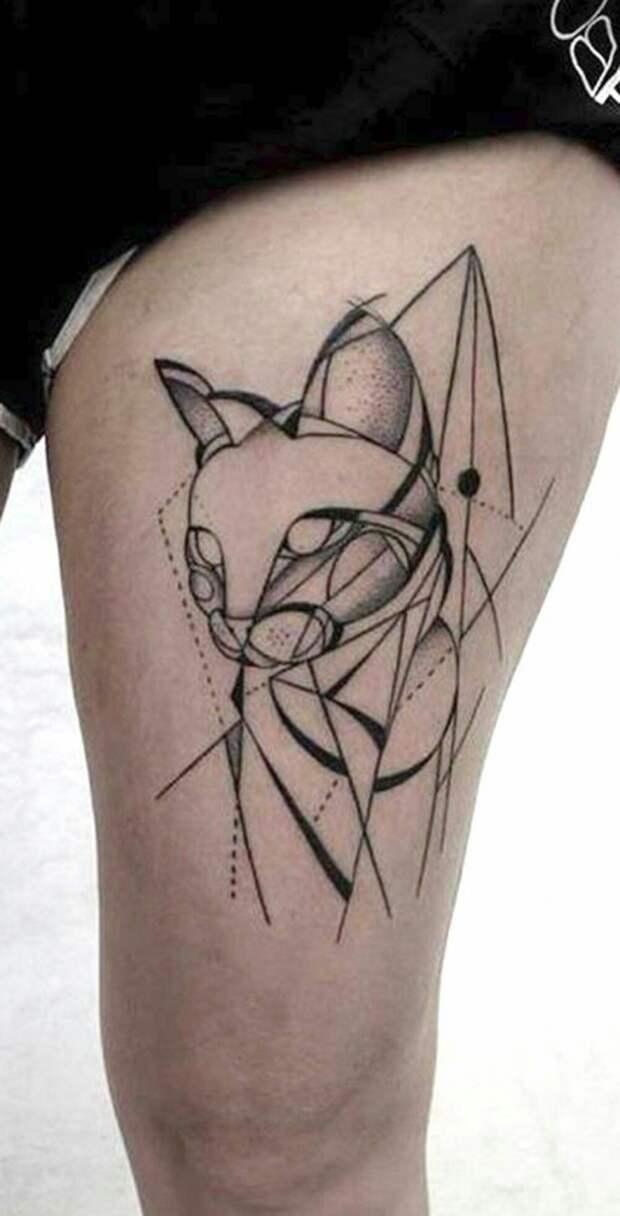 Татуированные кошки (подборка)