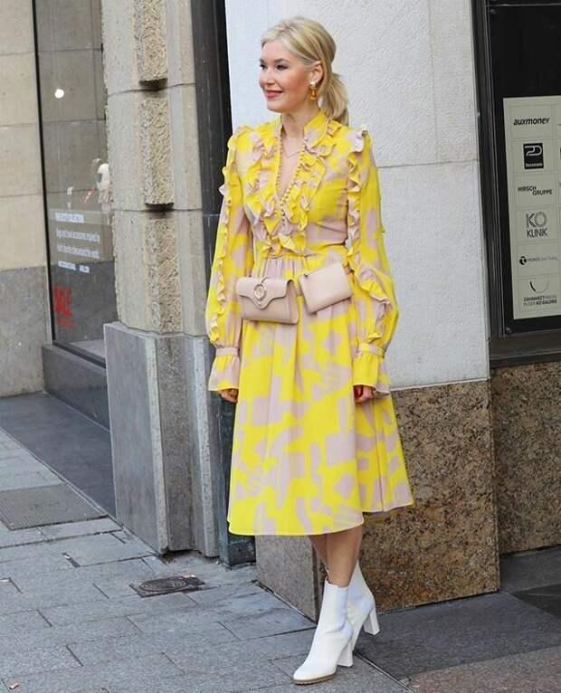 Яркие образы для современных женщин 50+. Стильно носим юбки, брюки и платья