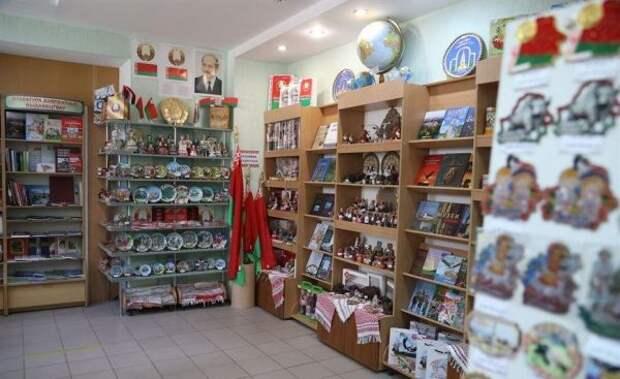 ВБелоруссии открыли первый встране магазин госсимволики