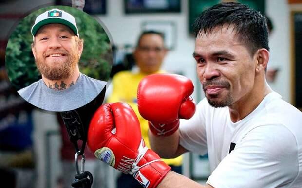 Помощник Пакьяо подтвердил намерение боксера подраться с Макгрегором