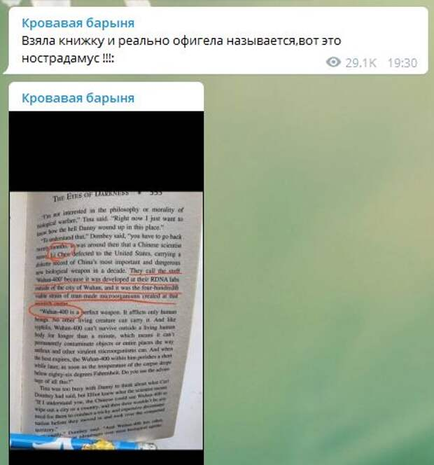 """Реально офигела"": Собчак рассказала о пророчестве Дина Кунца про коронавирус"