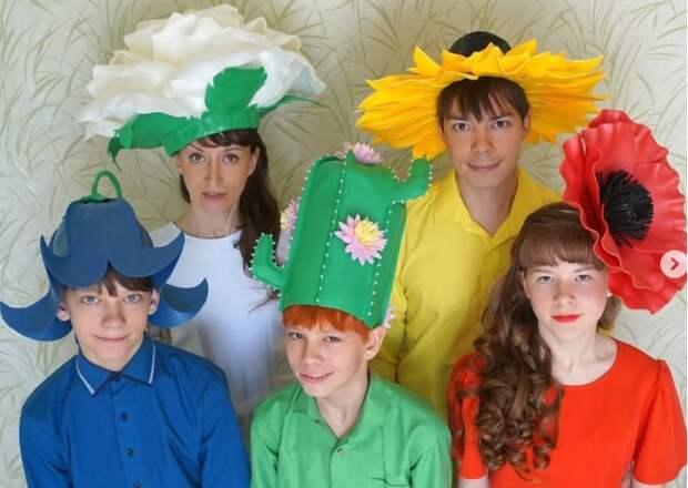 Семья из Алтуфьева победила в фотоконкурсе «Многодетный букет»