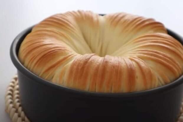 Воздушный хлеб Моток шерсти. Испечённый с любовью хлеб, который научила печь подруга из Мурманска 4