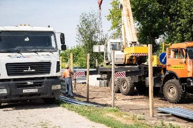 В Тамбовском районе идёт строительство современного дома культуры